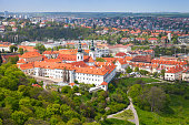 istock View of Prague with Strahov Monastery 864489350