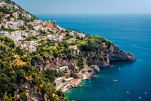 Blick auf Praiano. Italien – Foto