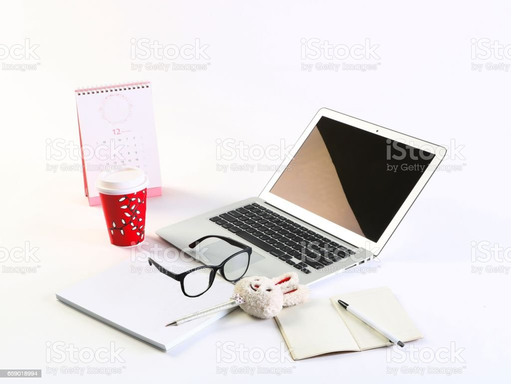 View of Professional office space royalty-free stock photo