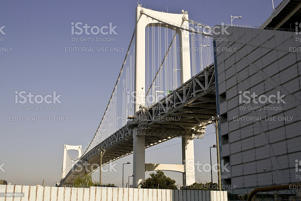 View of Rainbow Bridge. royalty-free stock photo