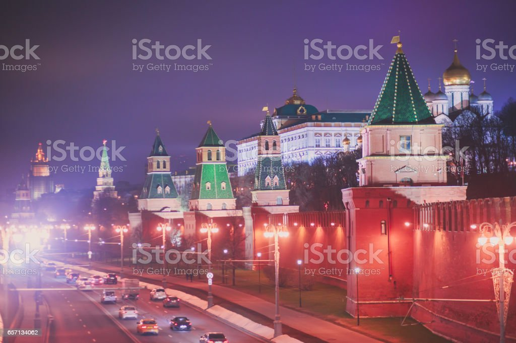 View of Red Square, Moscow, Russia stock photo
