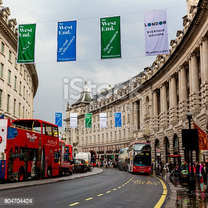 istock View of Regent Street in London 804704424
