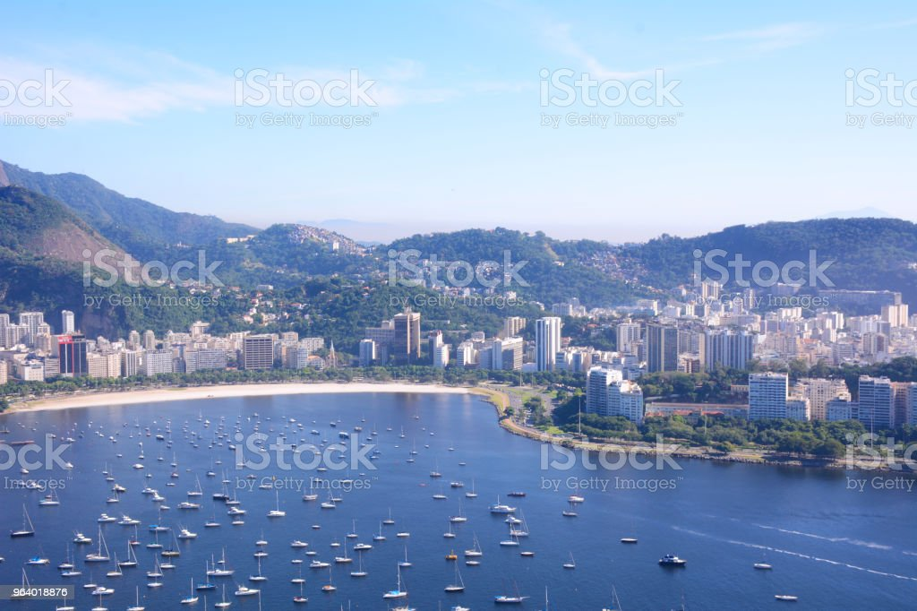 View of Rio de Janeiro, Brazil. - Royalty-free Beach Stock Photo