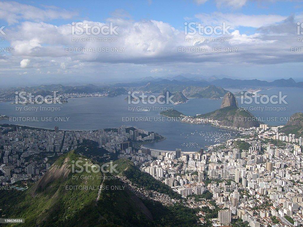 View of Rio de Janeiro royalty-free stock photo