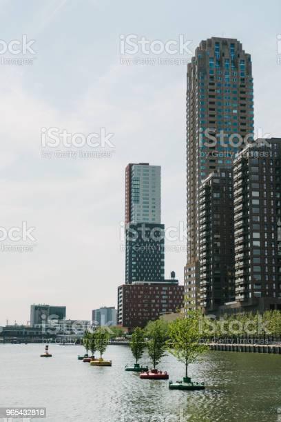 Foto de Vista Do Rio Em Roterdão e mais fotos de stock de Antigo