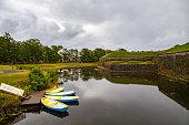 istock A view of Saaremaa island, Kuressaare castle in Estonia. Boat rental 677057790
