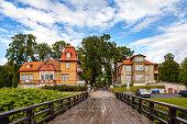istock A view of Saaremaa island, Kuressaare castle in Estonia. Cosy old wooden houses 677057890
