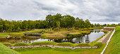 istock A view of Saaremaa island, Kuressaare castle in Estonia. The castle moat and park 677058032