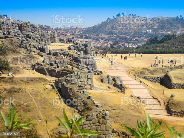 Photo of View of Sacsayhuaman ruins and Cusco city, Cusco, Peru