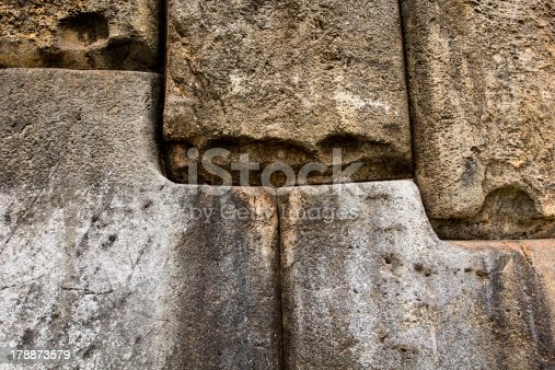 istock View of Sacsayhuaman wall, in Cuzco, Peru. 178873579
