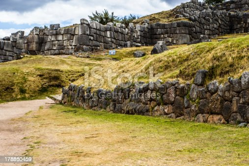 istock View of Sacsayhuaman wall, in Cuzco, Peru. 178880459