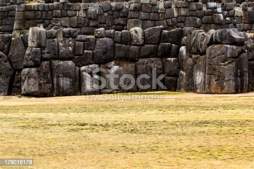 istock View of Sacsayhuaman wall, in Cuzco, Peru. 179216179