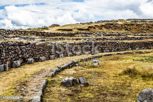 istock View of Sacsayhuaman wall, in Cuzco, Peru. 179229038