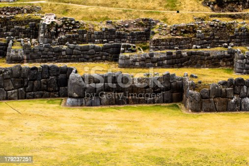 istock View of Sacsayhuaman wall, in Cuzco, Peru. 179237251