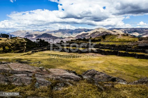 istock View of Sacsayhuaman wall, in Cuzco, Peru. 179237254