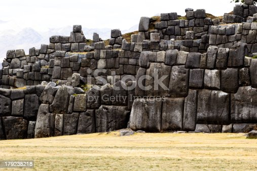 istock View of Sacsayhuaman wall, in Cuzco, Peru. 179238218