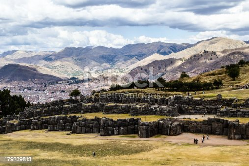 istock View of Sacsayhuaman wall, in Cuzco, Peru. 179239813