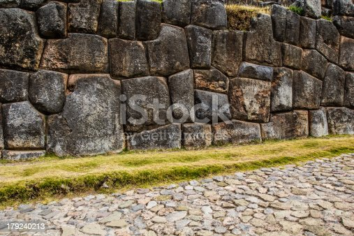 istock View of Sacsayhuaman wall, in Cuzco, Peru. 179240213