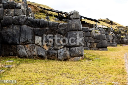 istock View of Sacsayhuaman wall, in Cuzco, Peru. 179274619