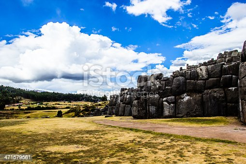 istock View of Sacsayhuaman wall, in Cuzco, Peru. 471579561