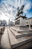 istock View of San Carlo Square and Twin Churches, Turin 909242908