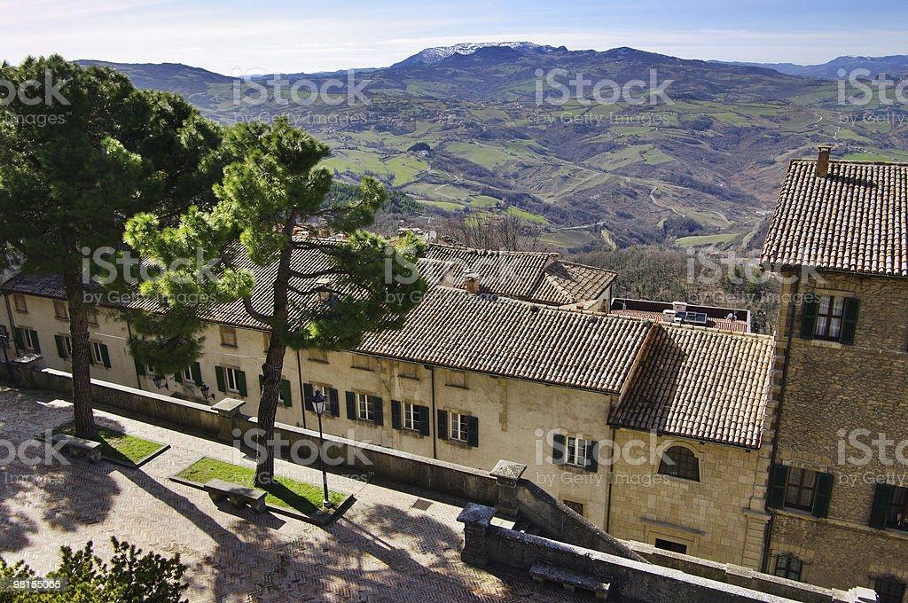 View of San Marino. royalty-free stock photo