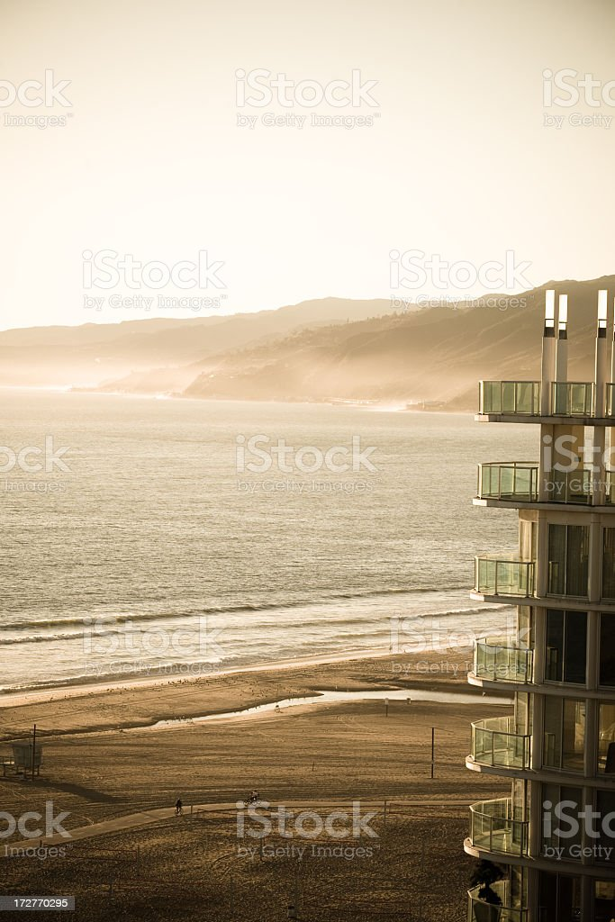 View Of Santa Monica royalty-free stock photo