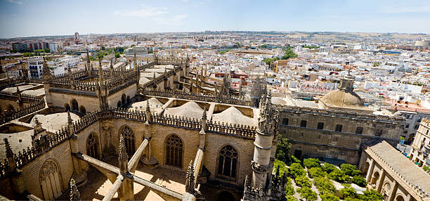 View of Sevilla stock photo