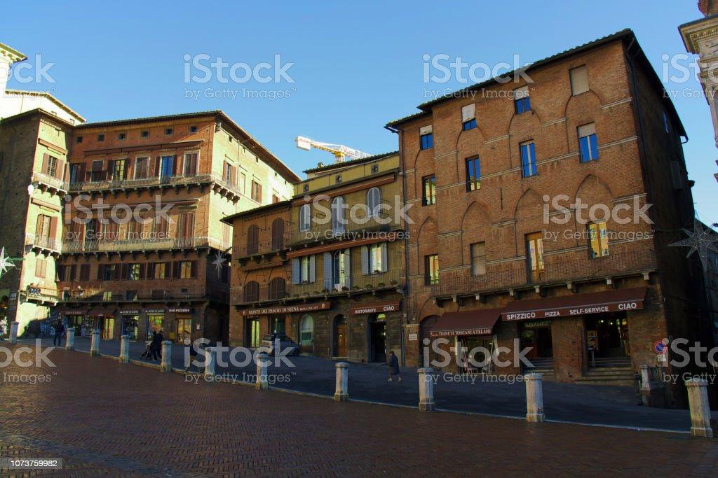 View of Siena стоковое фото