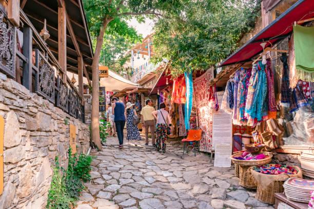 Cтоковое фото View of Sirince,a popular destination in Selcuk,Izmir,Turkey