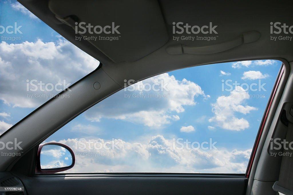 Landschaft Hinter dem Fenster – Foto