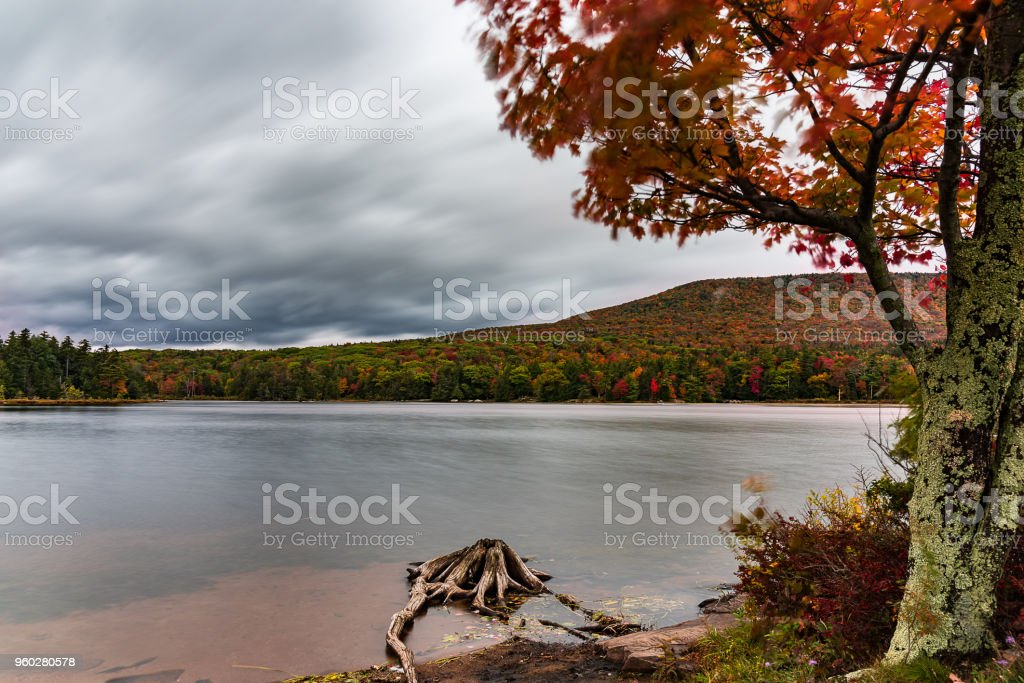 View Of South Lake At Northsouth Lake Campground In Catskill