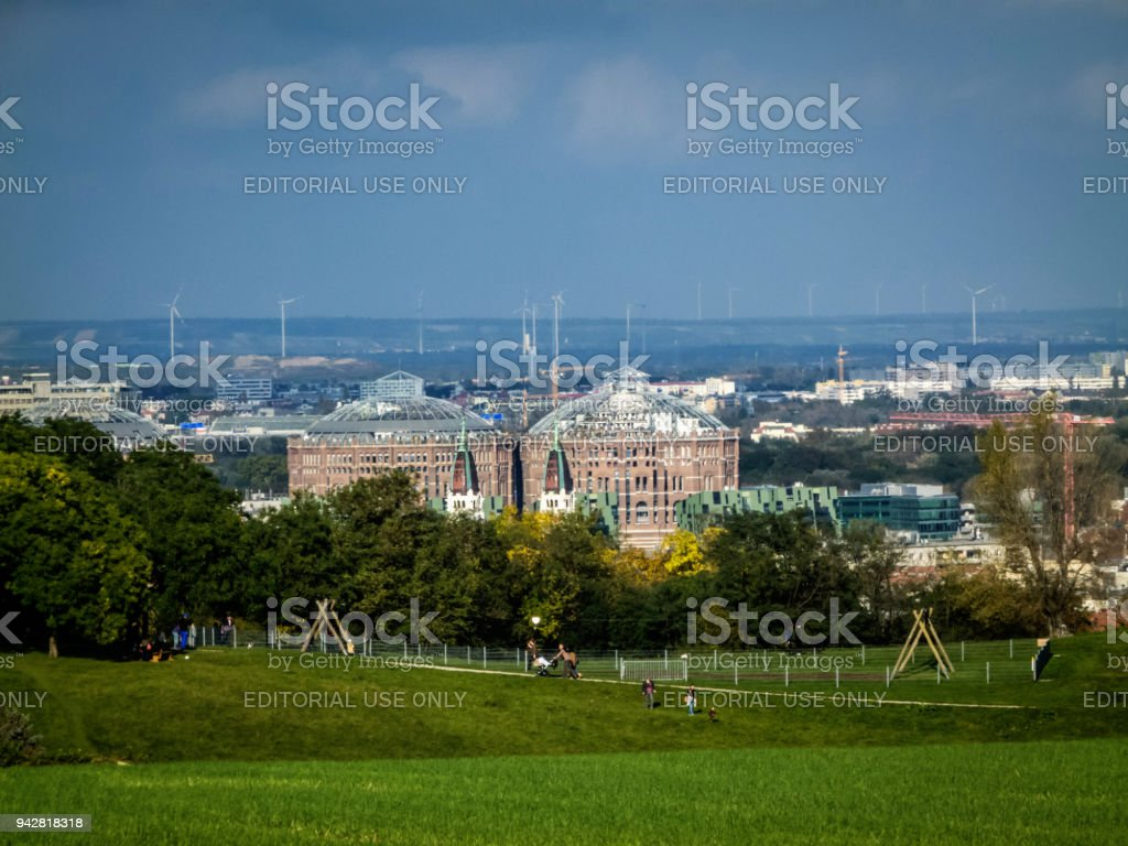 View of South Vienna stock photo