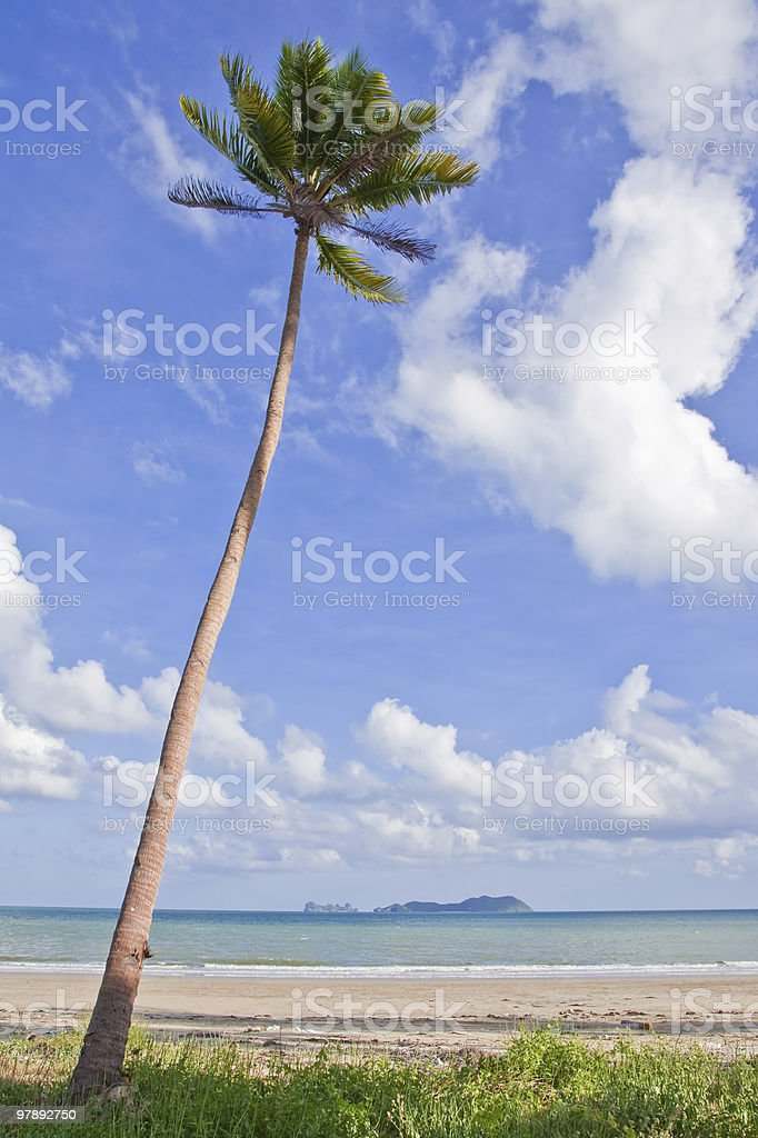 View of southern Thai sea royalty-free stock photo