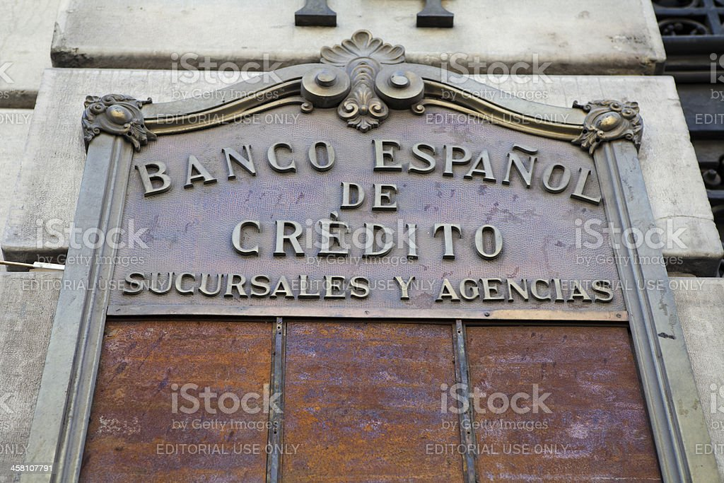 View of Spanish National Bank