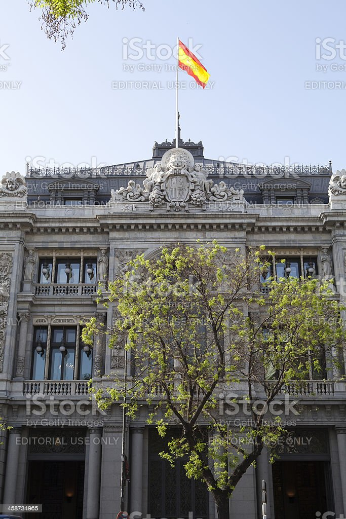 View Of Spanish National Bank Quotbanco Espanol De Creditoquot Stock