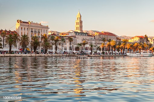 istock View of Split old town from the sea, Croatia 1005402348