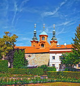 istock View of St. Lawrence Church on Petrin hill in Prague, Czech Republic. 807753294