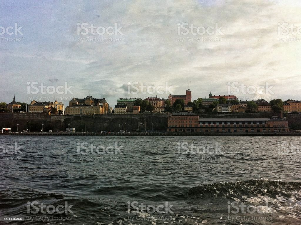 View of  Stockholm стоковое фото
