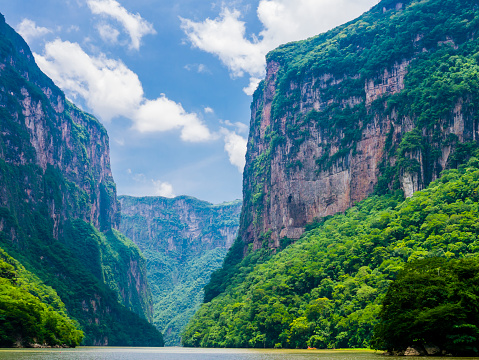 istock View of Sumidero Canyon from Grijalva river, Chiapas, Mexico 868515532