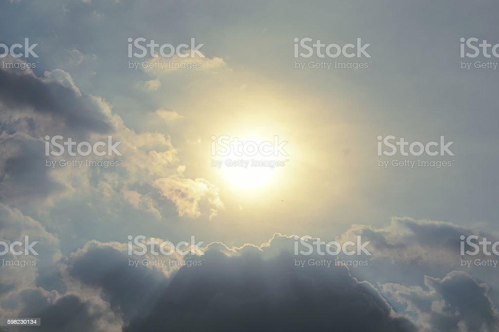 view of sun burst foto royalty-free