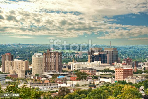 view of the city of Syracuse, new york