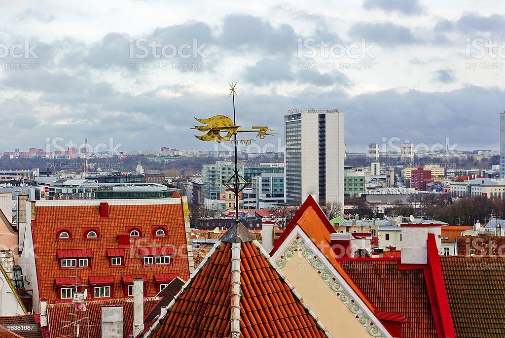 View of Tallinn royalty-free stock photo