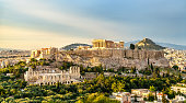 The Acropolis of Athens, UNESCO world heritage in Greece