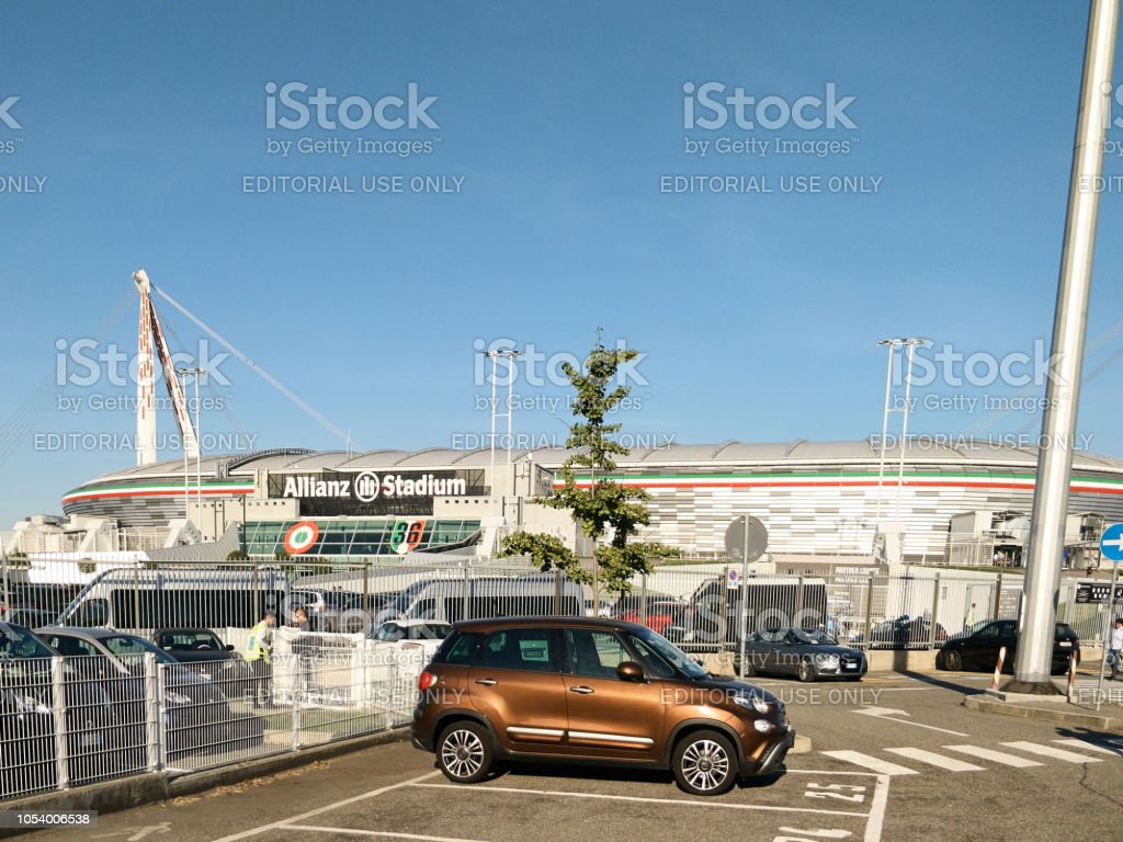 View of the Allianz Stadium during a match day stock photo