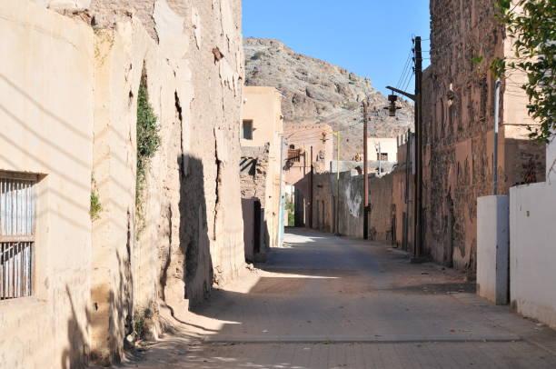 Blick auf die antiken Ruinen von Ibra, Oman – Foto