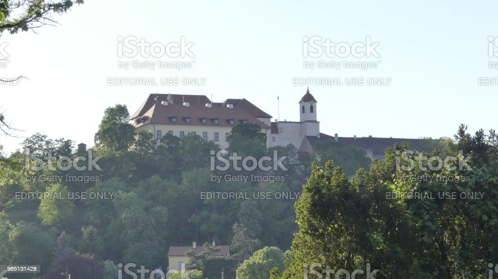 A view of the architecture of the old city. royalty-free stock photo