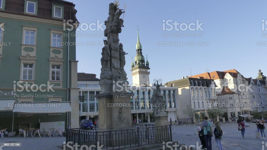 A view of the architecture of the old city. zbiór zdjęć royalty-free
