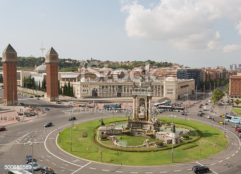 istock View of the area of Spain in the afternoon 500686589