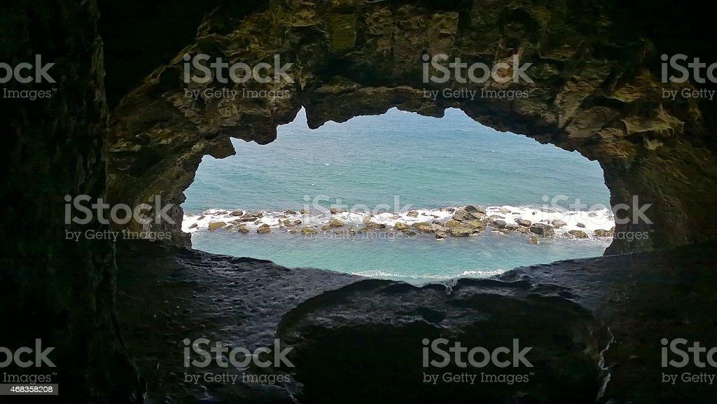 View of the Atlantic Ocean royalty-free stock photo